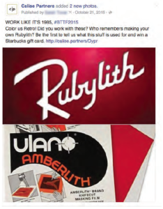 Who remembers making your own Rubylith Facebook Post