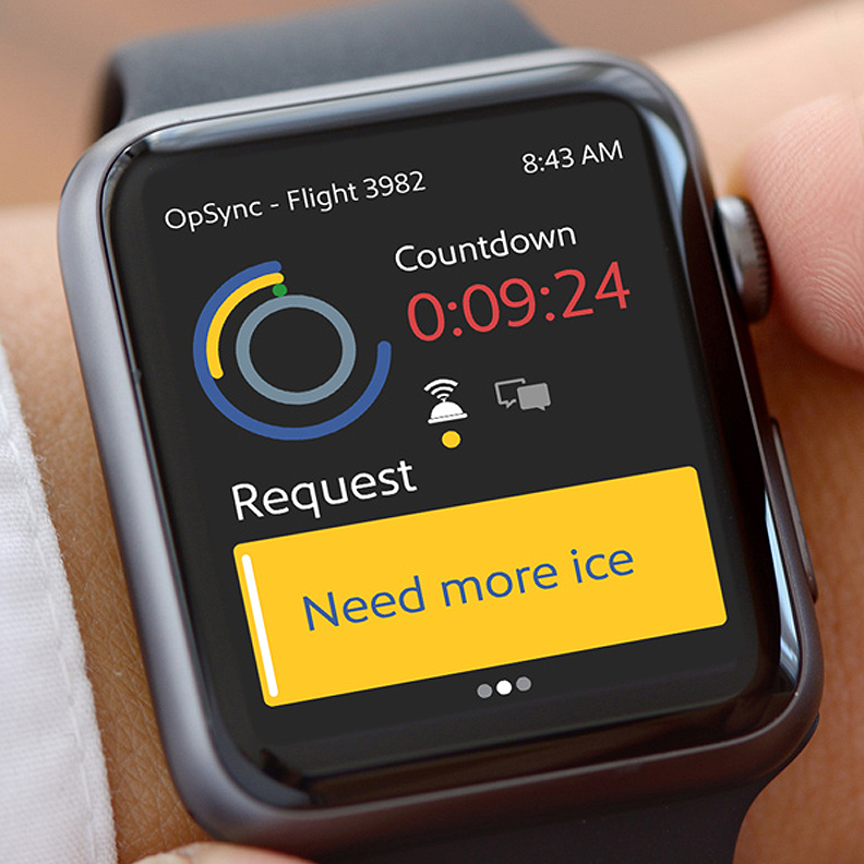OpSync on Watch Interface