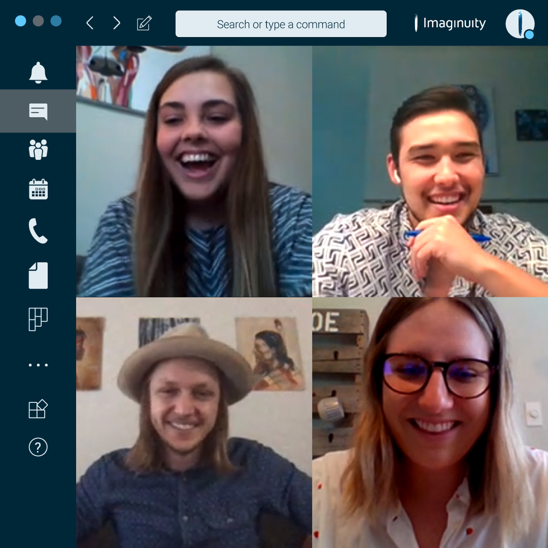 teams video chat image