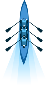 Rowing Team Graphic